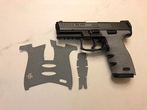 Heckler & Koch VP9 Gray Textured Rubber Gun Grip Enhancement Gun Parts Kit