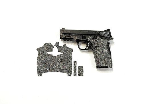 Smith and Wesson Shield ez Black Glitter Sandpaper Gun Grip Enhancement