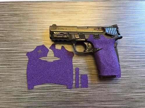 Smith and Wesson Shield ez Purple Sandpaper Gun Grip Enhancement Gun Parts