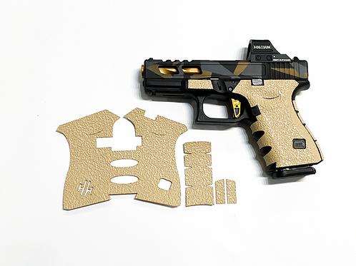 Glock Desert Sand Textured Rubber Grip Enhancement  Kit