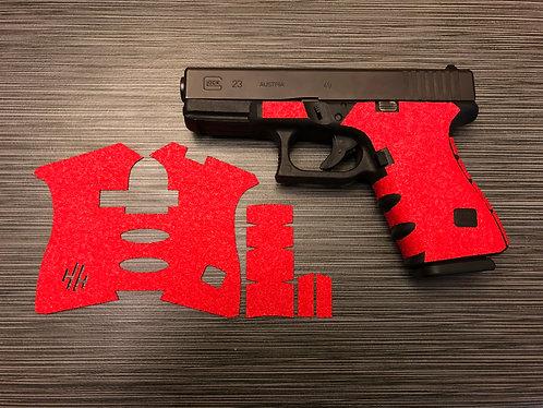 Glock 19/23/25/32/38 Color Sandpaper Gun Grip Enhancement Gun Parts Kit