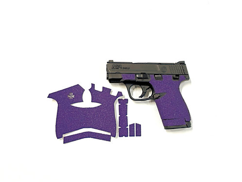 Smith and Wesson Shield Purple  Sandpaper Grip Enhancement