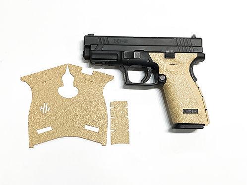 Springfield Grip Desert Sand Textured Rubber Gun Grip  Enhancement Kit