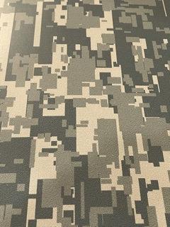 DIY Two  1 x 4 Inch Strips  Army Digital Camo Vinyl Kit