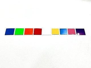 Colored Vinyl / Sandpaper Square Inserts Kit  ( 2 Squares Per Kit)