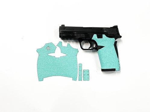 Smith and Wesson Shield ez 380  Tiffany Blue Sandpaper Gun Grip Enhancement