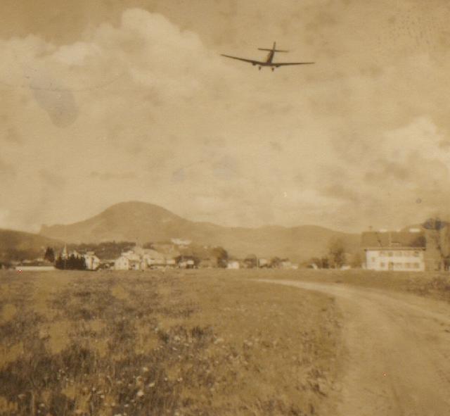 Flugverkehr gab es auch schon damals...