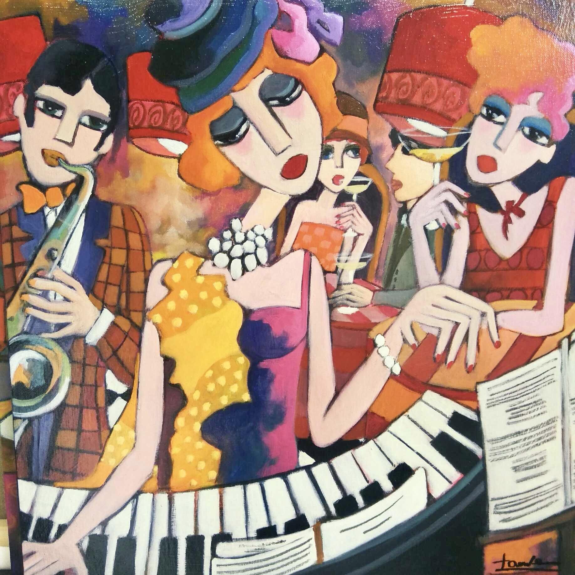 Madame_au_piano_-_50x50_cm_-_650€_-_to