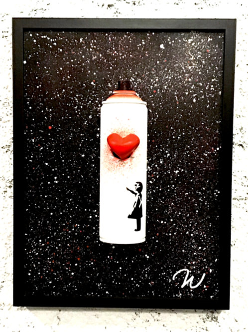 BANKSY TRIBUTE     With art you