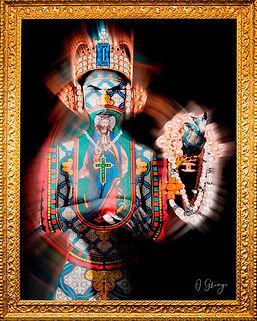 Helene «obstinacy is the road to succes- digital arte - photo d'art - Bijoux LVMH - Photo de Reine - Queen - O gringo 75 artiste -