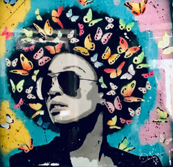 Blue butterfly by Edu Danesi