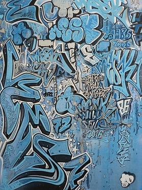 Papa Mesk - street art