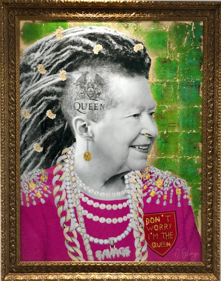 God save the Queen by o gringo 75