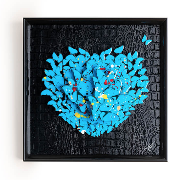 Fred meurice Blue butterfly