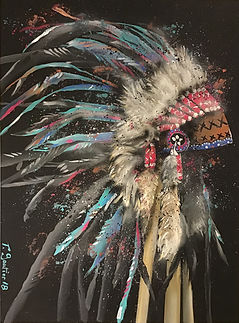 Sioux tribute 1 by T. Gautier