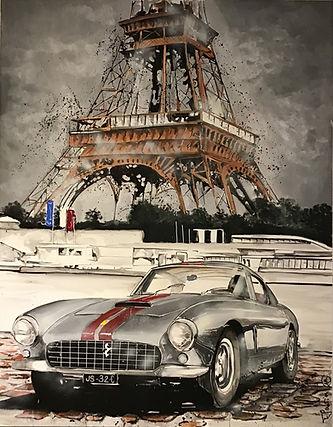 T. gautier -Ferrari in Paris