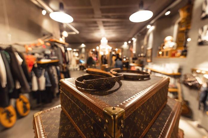 Bagagem louis Vuitton Vintage - Luagages Louis Vuitton Vintage set