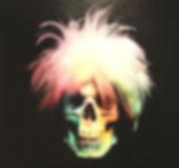 Ron English - Andy warhol skull