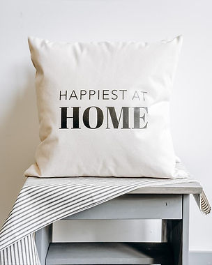 Finished Happiest at Home Pillow.jpg