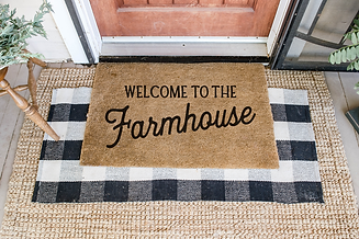 Welcome to the Farmhouse Doormat.png