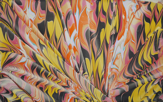 """marbled paper / 12"""" x 18"""""""
