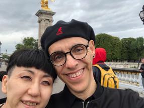 Megumi & Kelly Rain in Paris
