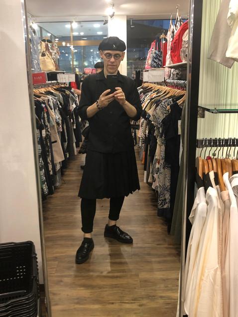Kelly Rain Black Skirt