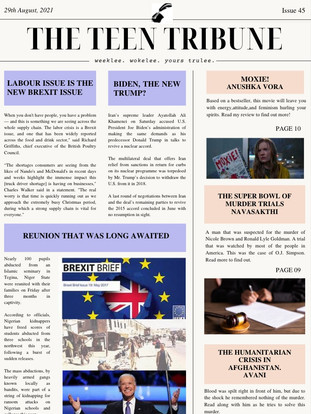 ISSUE 45 | 29th August 2021