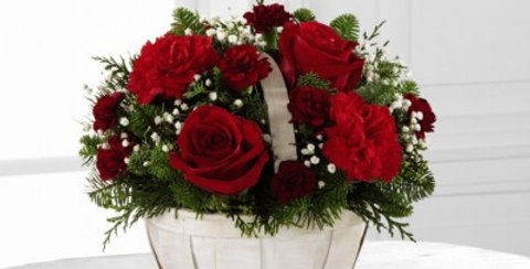 B18A-4945 The FTD® Celebrate the Season™ Bouquet by Better Homes and Gardens®
