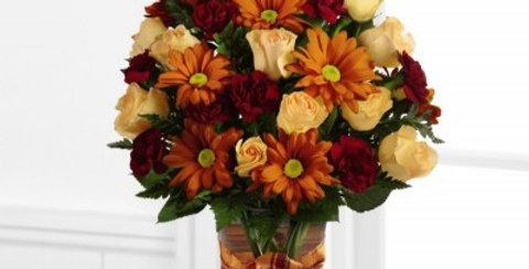 B4-4785 The FTD® Golden Autumn™ Bouquet