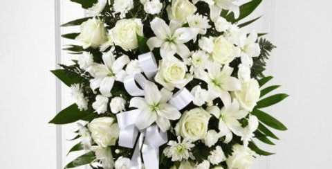 S6-4447 The FTD® Exquisite Tribute™ Standing Spray