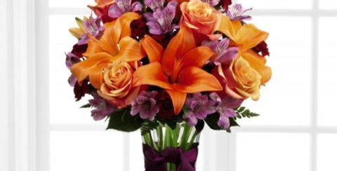 B7-4781 The FTD® Harvest Heartstrings™ Bouquet