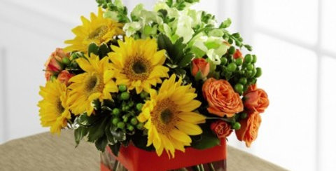 C4-4850 The FTD® Perfect Sun™ Bouquet