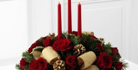 B10-4368 The FTD® Celebration of the Season™ Centerpiece