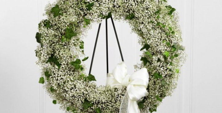 The FTD® Precious™ Wreath