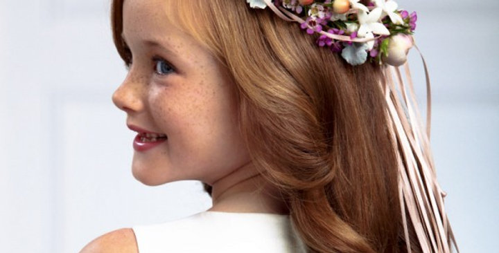 The FTD® Lila Rose™ Headpiece