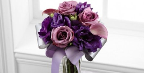 C17-4861 The FTD® Shades of Purple™ Bouquet