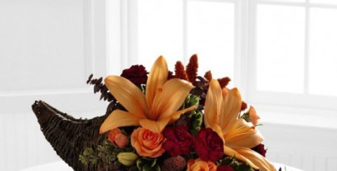 B3-4413 The FTD® Harvest Home™ Cornucopia