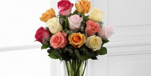 E8-4810 The FTD® Graceful Grandeur™ Rose Bouquet