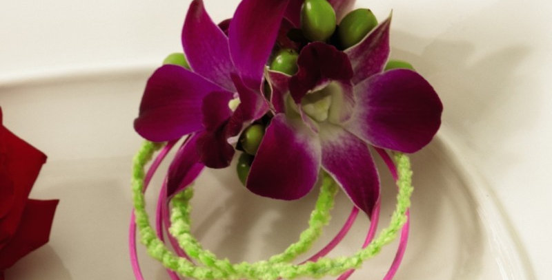 The FTD® Purple Dusk™ Wristlet