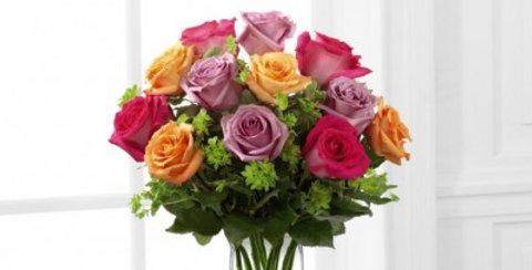 E6-4821The FTD® Pure Enchantment™ Rose Bouquet