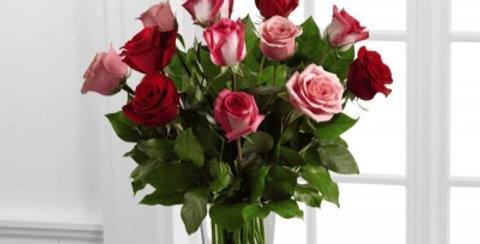B19-4387, The FTD® True Romance™ Rose Bouquet