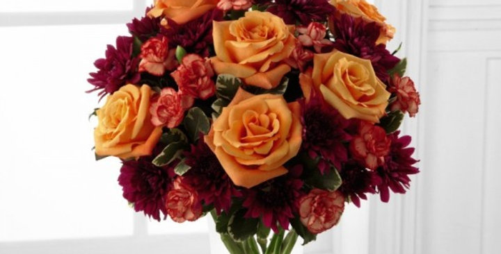 B7-4786 The FTD® Autumn Treasures™ Bouquet