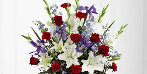 S45-4544 The FTD® Cherished Farewell™ Arrangement