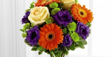 S40-4529 The FTD® Rays of Solace™ Bouquet