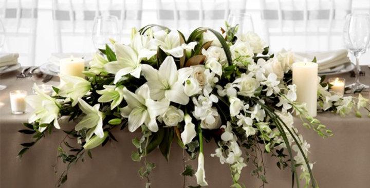 The FTD® White Linen™ Arrangement
