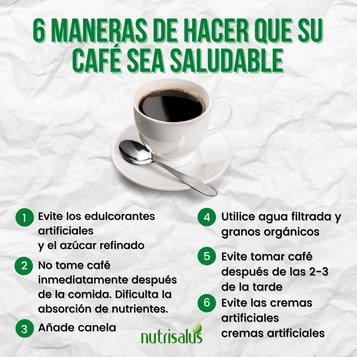 6 maneras de hacer que tu café sea saludable