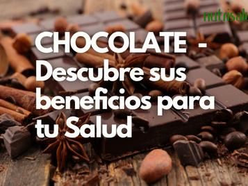 CHOCOLATE – Un alimento rico en sustancias antioxidantes