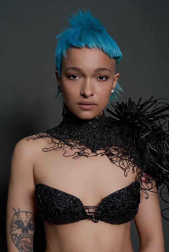 Collection Ministry of Hair 2018  PHOTOGRAPHE : Domenico Cennamo MODÈLE : Lisae CUT & COLOR : Zak Bertand STYLISME : Jérôme Blin Créateur MAQUILLAGE : Lisa Brusque
