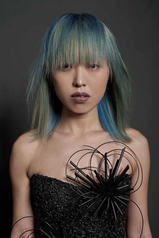 Collection Ministry of Hair 2018  PHOTOGRAPHE : Domenico Cennamo MODÈLE : Nana CUT & COLOR : Zak Bertand STYLISME : Jérôme Blin Créateur MAQUILLAGE : Lisa Brusque